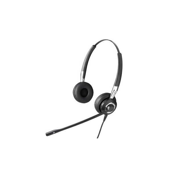 Wired Headset Jabra Biz 2400 Duo Wb Balance: Jabra BIZ 2400 QD Duo, Headset